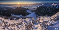 *Východ slnka na V.Rozsutci1609*