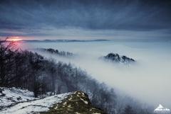 *Zimné ráno v  BielychKarpatoch*