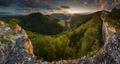 * Súľovské vrchy *