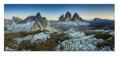 * Monte Paterno & Tre Cime *