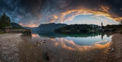 * Bohinjské jazero *