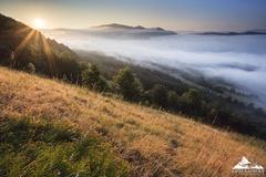 * Letné ráno na Manínci 602 m *