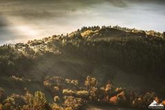 * Jesenné ráno pod Maníncom *