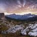 * Ráno nad Cortina d´Ampezzo *