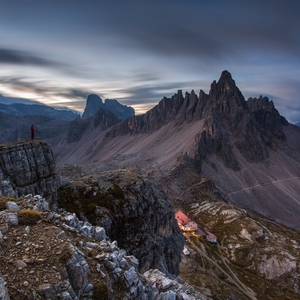 * Monte Paterno -Dolomity *