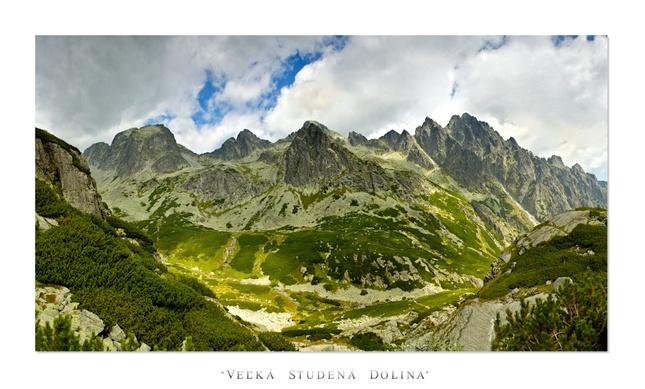 * Veľká studena dolina *