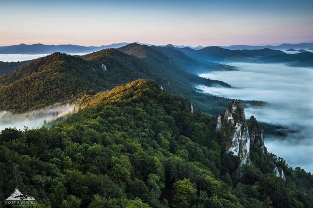 * Hrebene Súľovských vrchov *