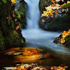 ...colourful stream...