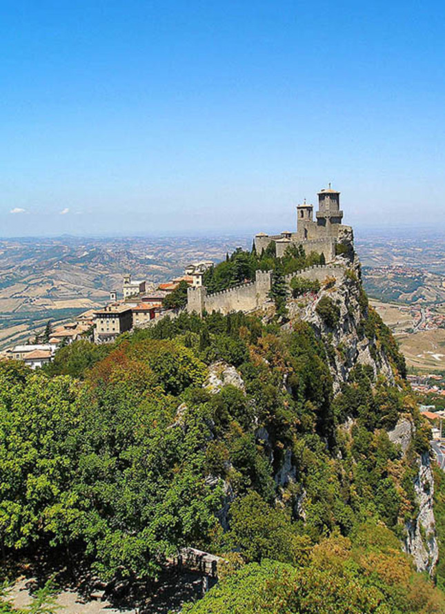 San Marino - hrad