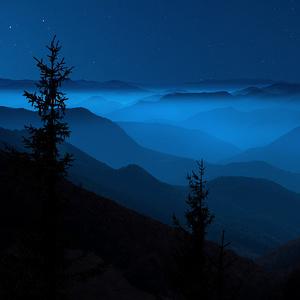 Noc na horách...