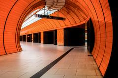 Orange Subway Station