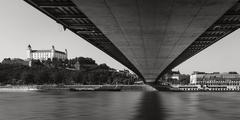...under the bridge...