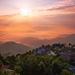 Vychod slnka nad Himalajami