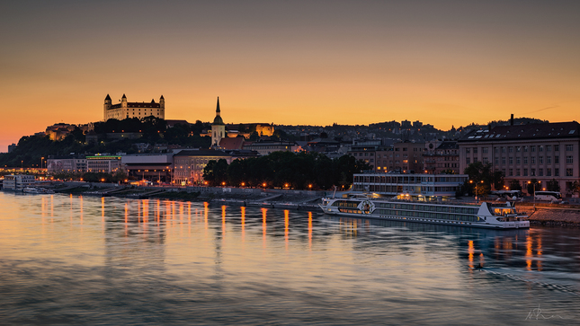 Bratislava riverside