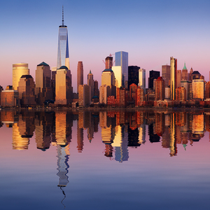 Manhattan reflection
