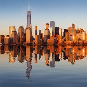 Manhattan reflection II.