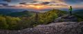 Západ slnka na Buchlove II.