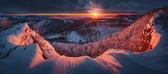 Východ slnka na Vysokej