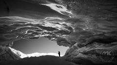 V bráne ľadovca