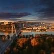 Bratislava v zlatej hodinke