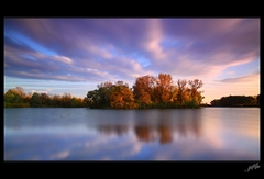 jesenne svetlo na Zemniku