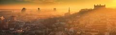Zlatý závoj mesta