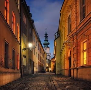 ulička na Michalskú vežu