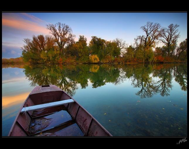 jesenne zrkadlenie na Zemniku