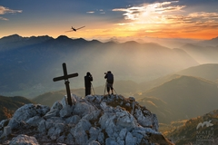 fotografi na vrchole Kalbling