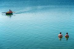 Pohoda v jazere
