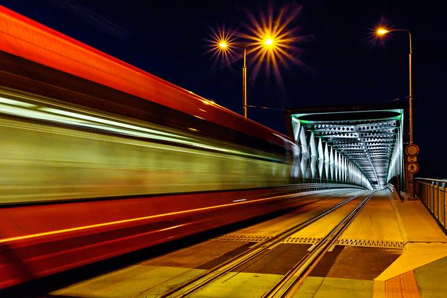 Nočný nový Starý most