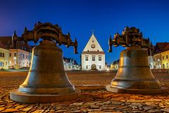 Radnica  a zvony v Bradejove