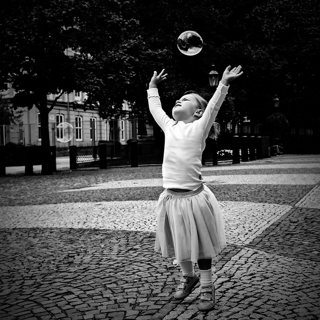 Hra s bublinkou