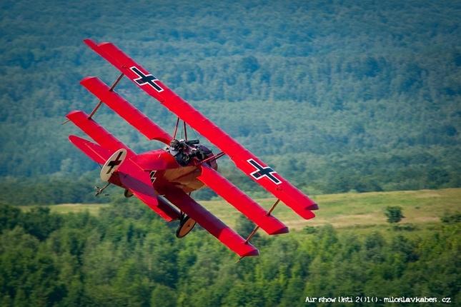 trojplošník Fokker Dr I