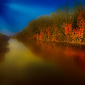 snivanie pri rieke