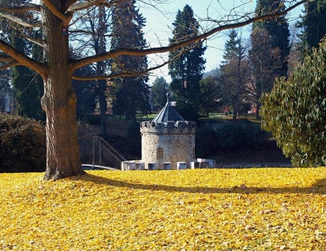 Bojnice,Jeseň