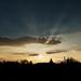 Západ slnka nad Verešvárom