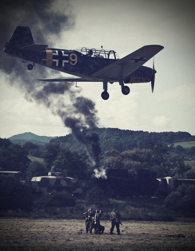 WW2 II. - nálet