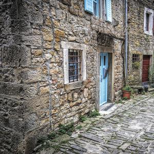 v uličkách Istrie