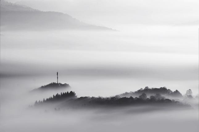 Misty lines