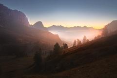Brieždenie v Dolomitoch