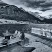 Podvecer pri fjorde
