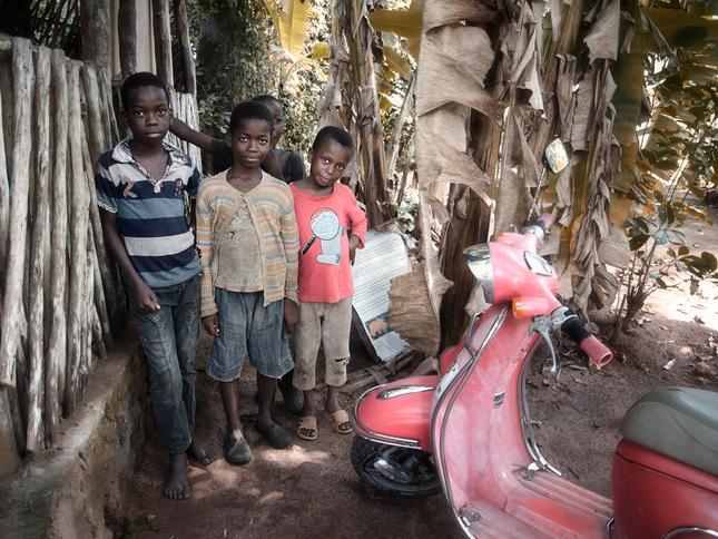 Zanzibarské detstvo