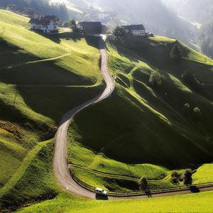 Cesta alpskými lúkami