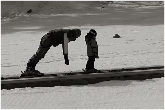 v lyžiarskej škôlke