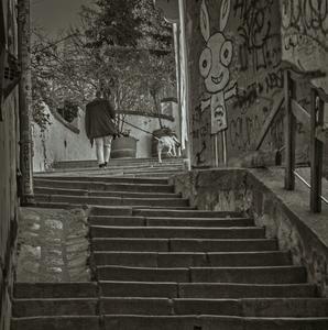 Po schodoch, ....