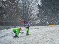 Snehová selfie