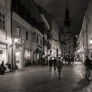 Večer v Starom meste