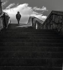 Po schodoch...