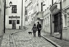 V starých uličkách